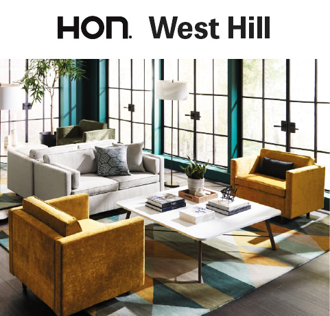 HON West Hill Seating Collection