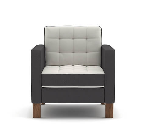 Allermuir Brummell Seating Front View