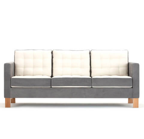 Allermuir Brummell Seating Sofa Front View