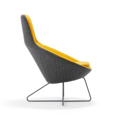 Allermuir Conic Seating Side View