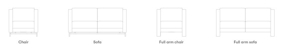 Allermuir Dandy Seating Product Range