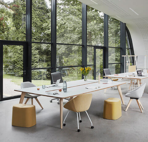 Allermuir Famiglia Seating Collection With Footstools