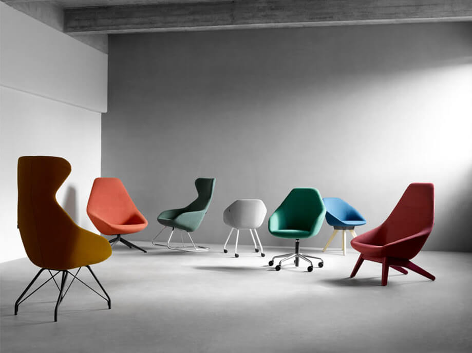 Allermuir Famiglia Seating Collection