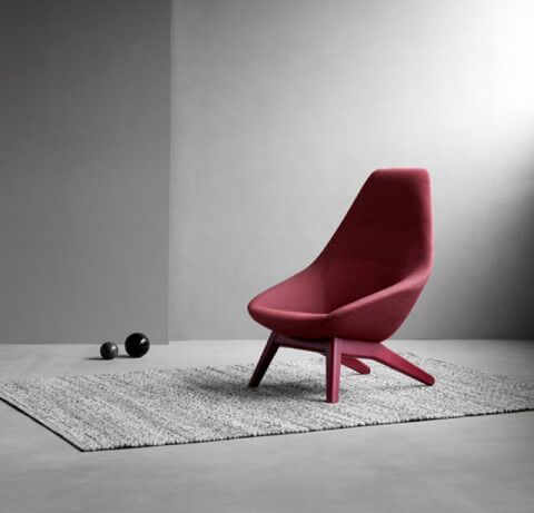 Allermuir Famiglia Seating Lounge Chair