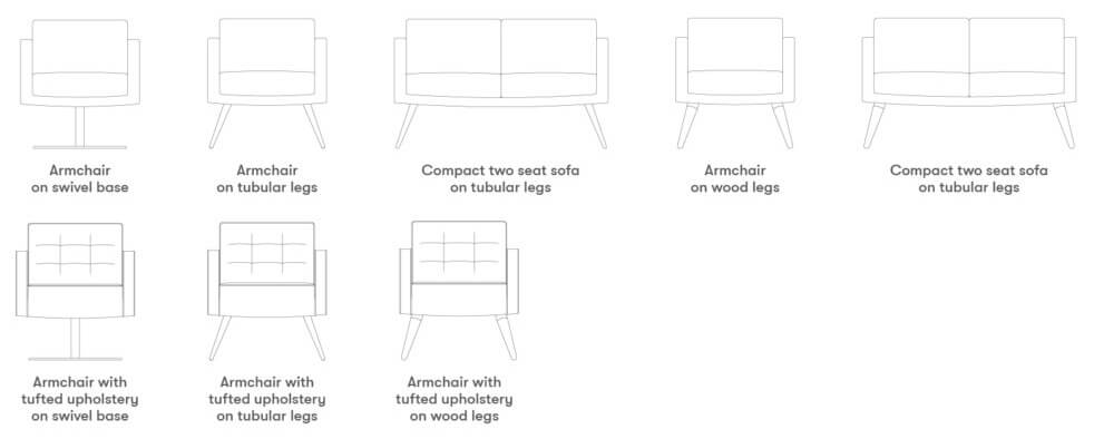 Allermuir Fifty Series Seating Product Range