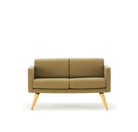 Allermuir Fifty Series Seating Two Seat Sofa