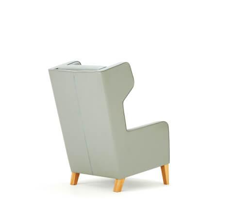 Allermuir Grainger Seating Chair Back View