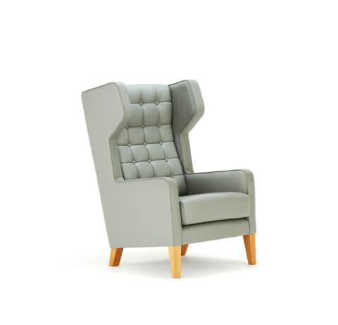 Allermuir Grainger Seating High Wing Chair
