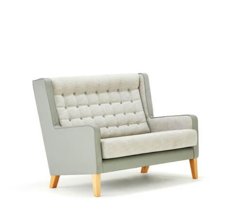 Allermuir Grainger Seating High Wing Sofa
