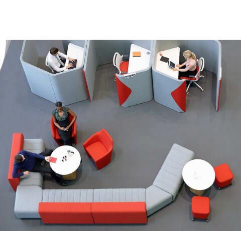 Allermuir Haven Bench Seating Lounge Seating