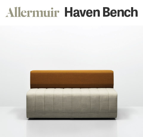 Allermuir Haven Bench Seating