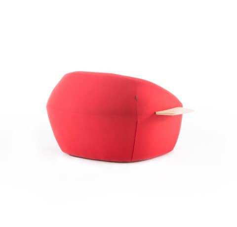 Allermuir Jinx Seating Armchair Back View