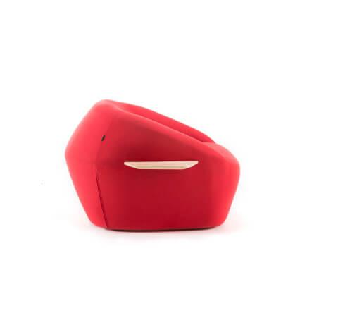Allermuir Jinx Seating Armchair Side View