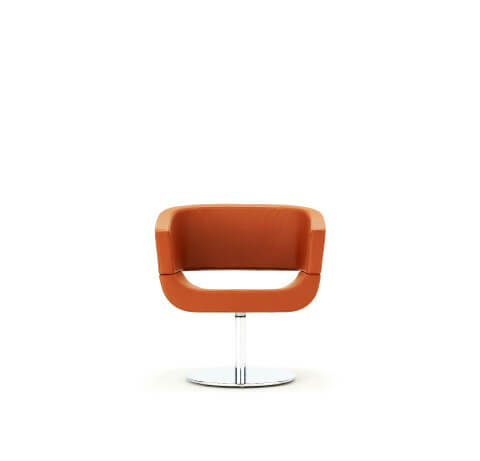 Allermuir Lola Seating Chair Front View