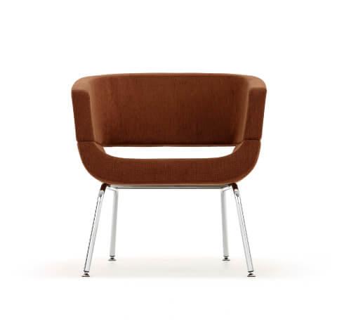 Allermuir Lola Seating Chair On 4 Leg Frame