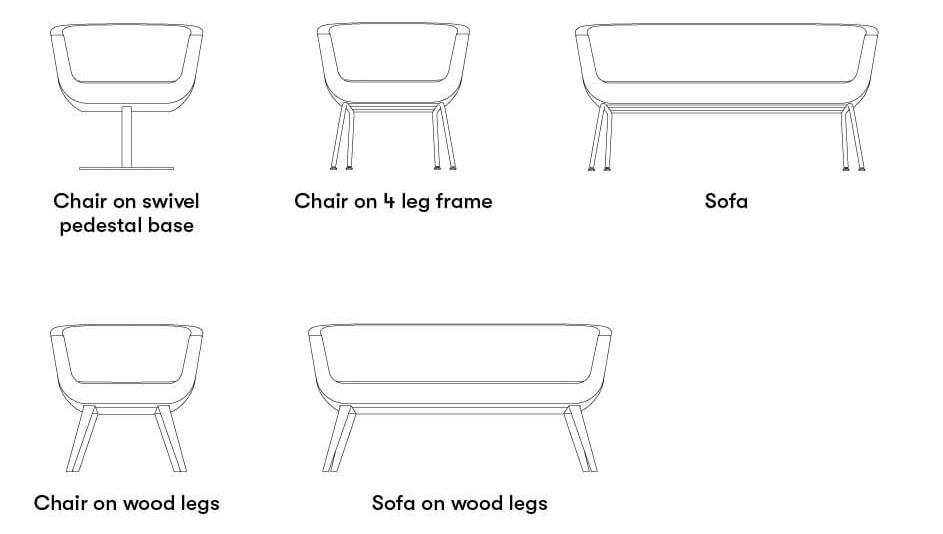 Allermuir Lola Seating Product Range