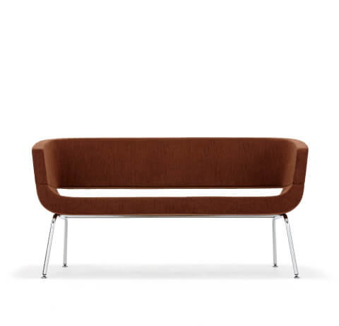 Allermuir Lola Seating Sofa Front View