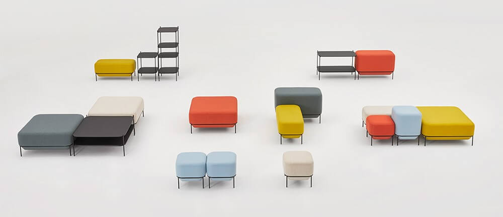 Allermuir Mozaik Seating Collection