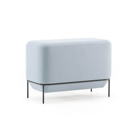 Allermuir Mozaik Seating Low Rectangular Bench