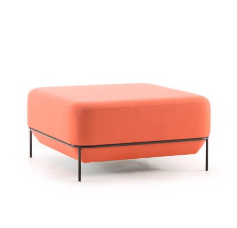 Allermuir Mozaik Seating Low Square Stool