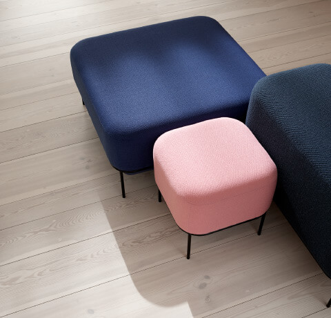 Allermuir Mozaik Seating Stools