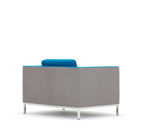 Allermuir Octo Seating Armchair Back View