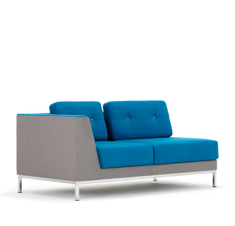 Allermuir Octo Seating Chaise Side View