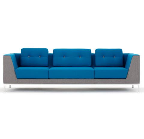 Allermuir Octo Seating Three Seat Sofa