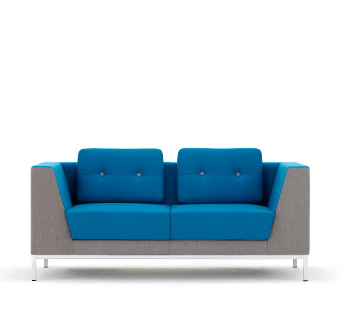 Allermuir Octo Seating Two Seat Sofa