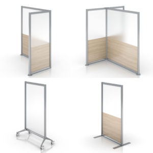 Enwork Zori Freestanding Screens