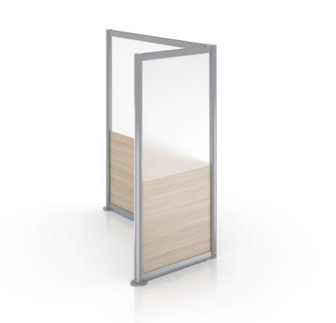 Enwork Zori Freestanding Screens L-Shaped