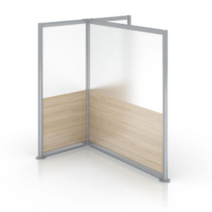 Enwork Zori Freestanding Screens T-Shaped