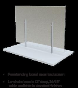 Global Wellness Screens Product Range Freestanding