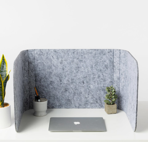 Loftwall Hide Privacy Dividers Marble PET