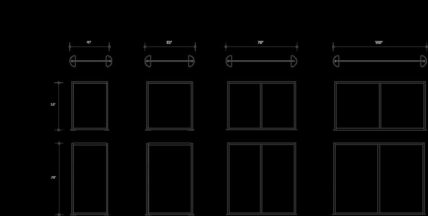 Loftwall Split Open Style Dividers