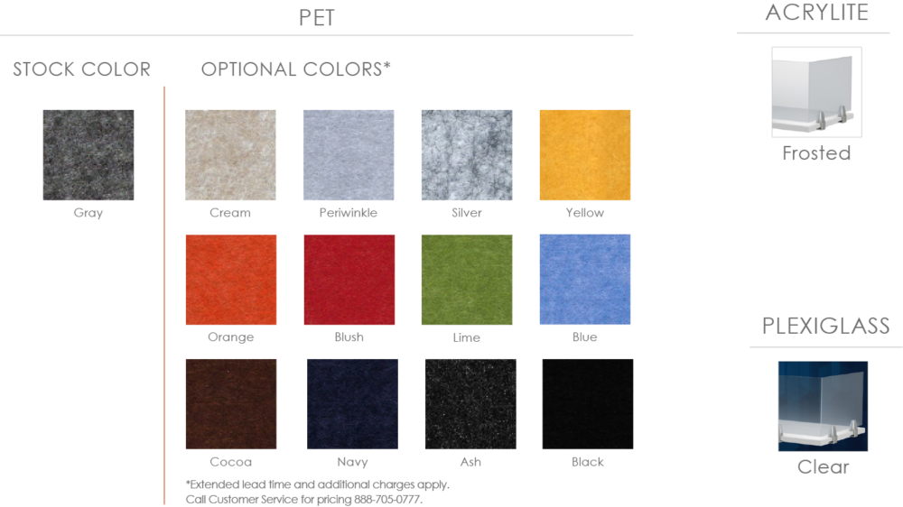 Special-T Screens Color Options