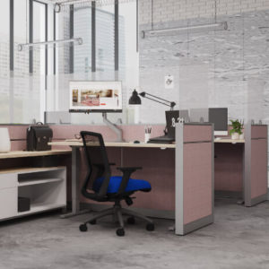 Special-T Screens Cubicle Panel Mounted