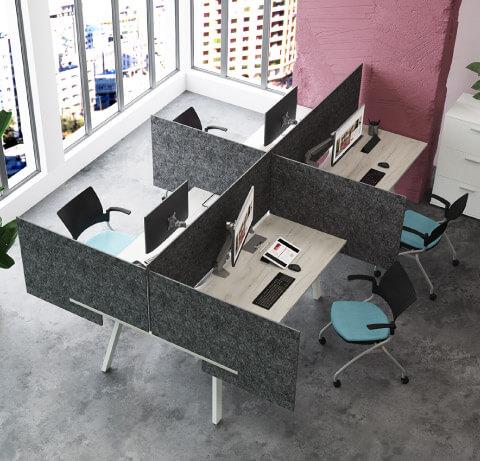 Special-T Screens Desk Divider