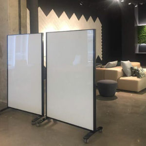 Claridge Mobile Dividers Freestanding