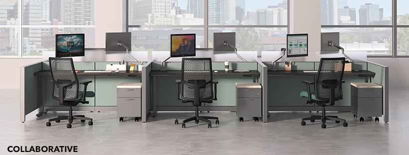 HON Abound Collaborative Workstations