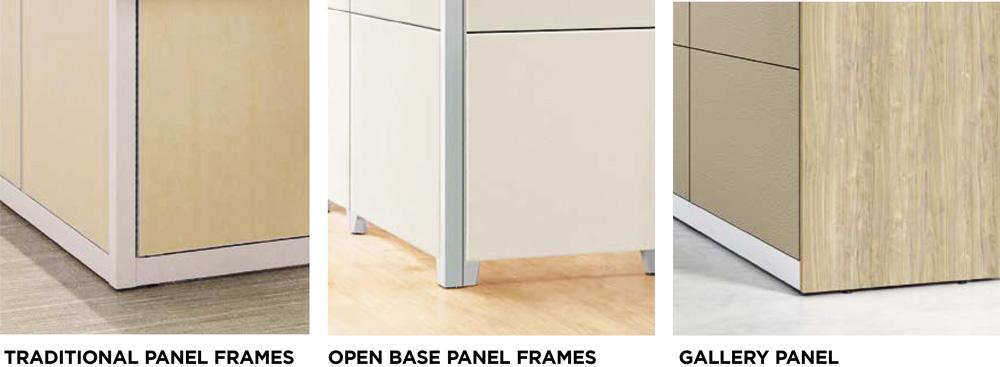 HON Abound Panel Frame Options