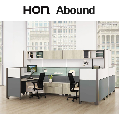 HON Abound Workstations Cubicles