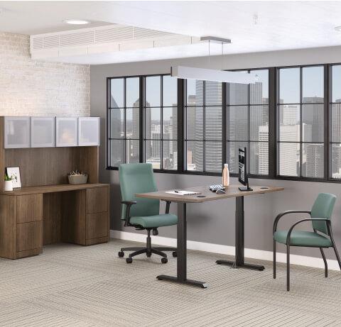 HON Healthcare Administration Coordinate Desking