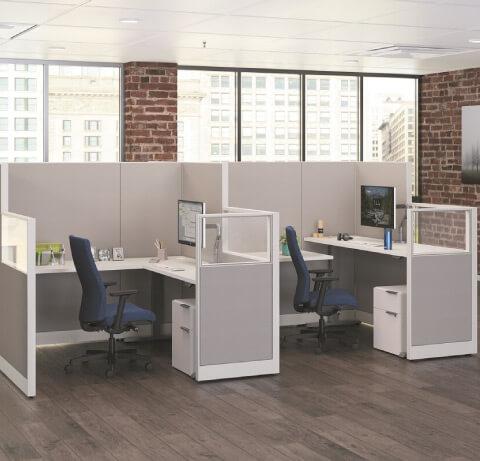 HON Healthcare Administrative Workstations