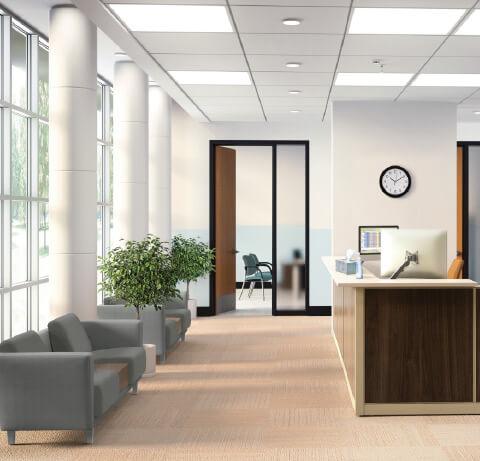 HON Healthcare Flock Lounge