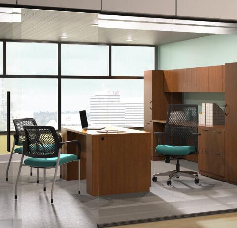 HON Healthcare Patient Consulting Desking