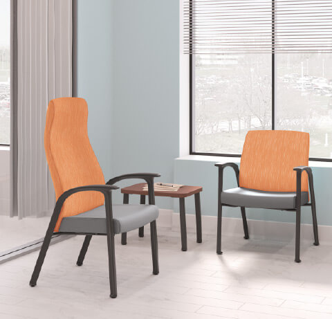 HON Healthcare Patient Guest Seating