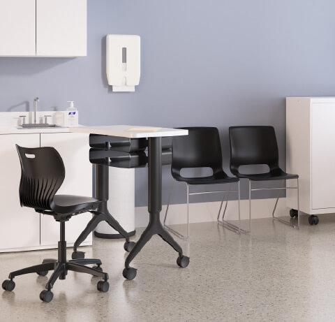HON Healthcare Small Exam Room