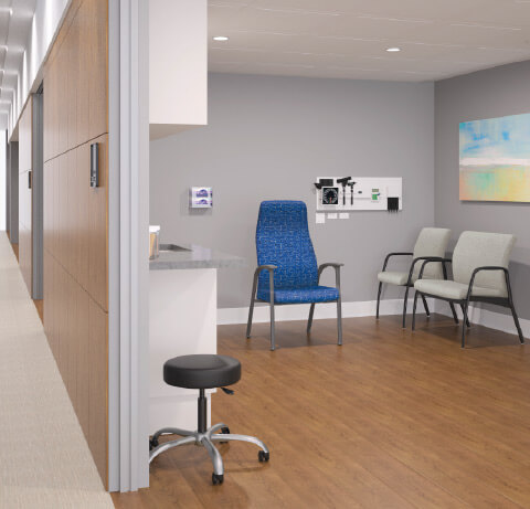 HON Healthcare Soothe Exam Room Seating