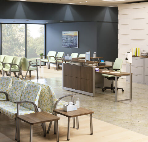 HON Healthcare Soothe Guest Chairs